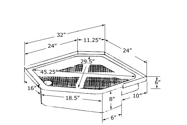 32 X 32 Corner Shower  32 In X 32 In X 70 3 4 In Standard Corner  32 X 32 Corner Shower Kit   Mobroi com. 32 Inch Corner Shower. Home Design Ideas