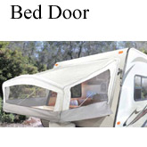 fold out Trailer Bed door