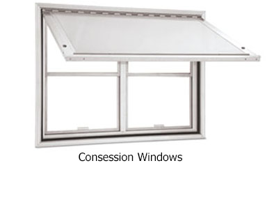 Concession Windows made to order