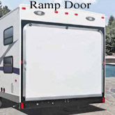 Toy Hauler doors, Ramp Door