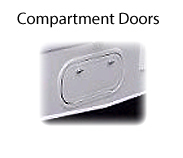 RV compartment doors, RV generator door, RV access doors