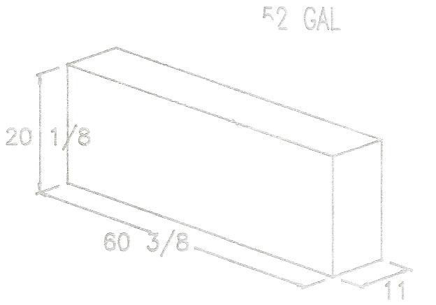 Water Tanks - 35 - 70 Gallons - RV Windows