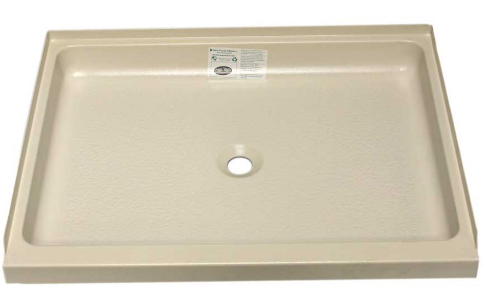 24 X 32 Shower Pan With Center Drain Model Number: 32 DF 354326602. Price  $174.74