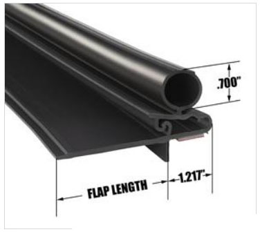 Snap-In- Seal 2 875 inch flap length - RV Windows