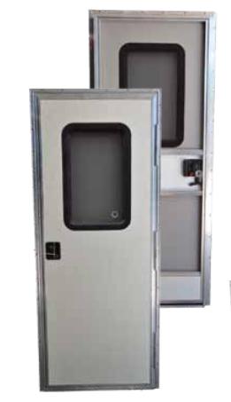 RV Entry Door, Replacement Entrance Door - RV Windows on