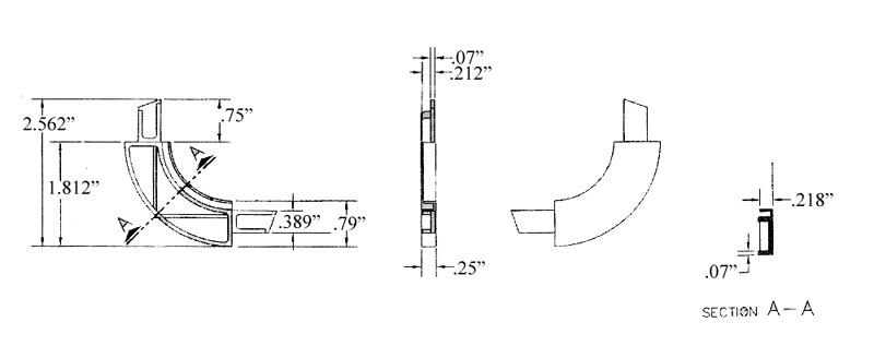 hehr i m  screen corner - 1 812 u0026quot  radius