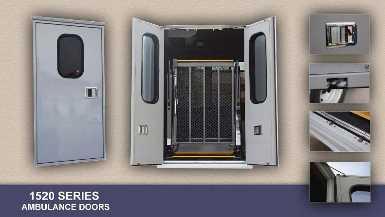 Emergency Vehicle Ambulance Compartment Doors Rv Windows