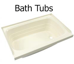 RV bathubs and RV step tubs