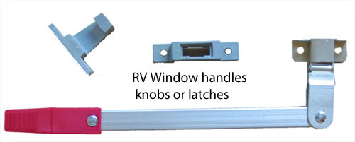Rv Window Handles and Latches